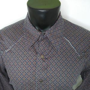 Calvin Klein Jeans Snap Button Front Shirt